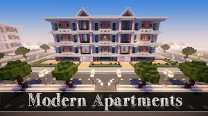 minecraft lets build modern apartments 2 part 4 youtube