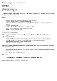 intern resume sle 28 images sle resume sle mechanical