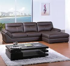 chocolate sectional sofa contemporary chocolate bonded leather sectional sofa tos bvt b2177