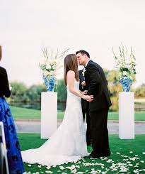 blue and white wedding at the boulders phoenix scottsdale