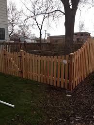 link n wood fence fence gurnee fence libertyville fences grayslake