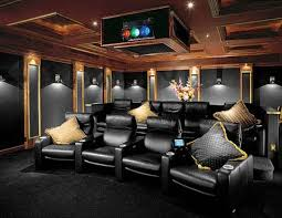 Simple Home Theater Design Concepts The 25 Best Home Theater Lighting Ideas On Pinterest Home