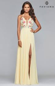light yellow prom dresses yellow prom dresses formal gowns homecoming cheap