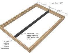 Free Platform Bed Frame Designs by Ana White Build A Hailey Platform Bed Free And Easy Diy