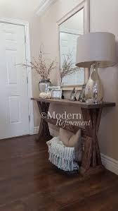 Entryway Accent Table Stunning Handmade Rustic Farmhouse Entryway Table Just The Right