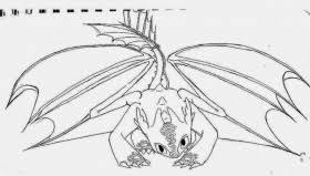 night fury dragon coloring page free printable coloring pages