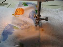 lighted window sewing