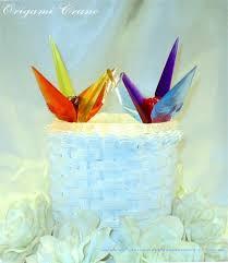 Origami Wedding Cake - for wedding