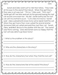 reading comprehension questions 4th grade constructed response for 2nd common cores classroom freebies