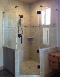 Custom Shower Door Glass Frameless Neo Angle Shower Door Glass Accents Neo Angle Shower