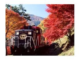 kyoto fall colors arashiyama train hozugawa boat ride tour