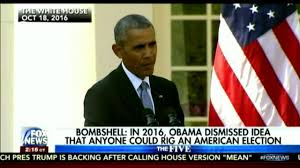 Obama No American Flag In 2016 Obama Dismissed Idea That Anyone Could Rig An American