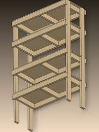 Build A Wood Shelving Unit by Best 10 Garage Shelving Plans Ideas On Pinterest Building