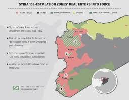 ankara on world map ankara determines road map for de escalation zones in syria