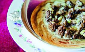 cuisiner les morilles fraiches de morilles fraîches légèrement crémées par alain ducasse