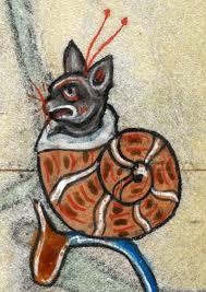shukernature medieval snail cats in illuminated manuscripts or