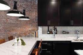 black kitchen cabinets with white subway tile backsplash 25 black kitchen ideas