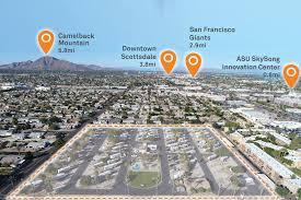 Scottsdale Fashion Square Map Scottsdale Rv Park
