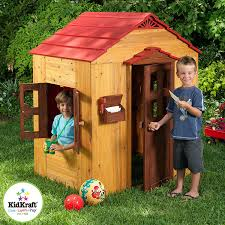 Patio Playhouse Beauty And The Beast by Amazon Com Kidkraft Outdoor Playhouse Toys U0026 Games