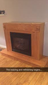 refinished an oak fireplace just in time for christmas album on
