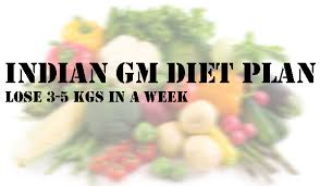 fastest indian vegetarian gm diet to lose weight in 7 days