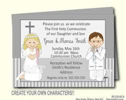 communion invitations for boys digital boys communion invitations two boys 1st