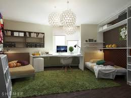 interior design ideas kids rooms modern room teenage girl home cool teenage bedroom study with grass green ruf rug and glamorous chandeliers contemporary interior design designs