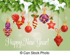 Happy New Year Decorations Vector Clip Art Of Vector Decorations Different Vector