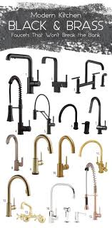 kitchen faucet black finish best 25 faucet ideas on bath design plumbing