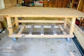 how to build a workbench for diy projects over the big moon