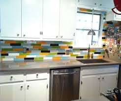 kitchen stick on backsplash no paint allowed 5 options for temporary wall coverings