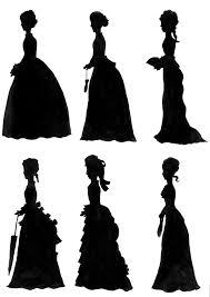 Victorian Era Victorian Era Silhouettes By Maorinavra On Deviantart
