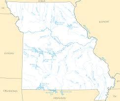 Missouri Illinois Map by Missouri Rivers And Lakes U2022 Mapsof Net