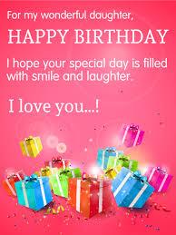 birthday cards for a daughter lilbibby com
