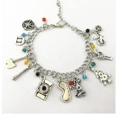 bracelet with charms images Stranger things bracelet with charms lolipop shop jpg