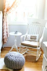 White Rocking Chairs For Nursery Nursery Rocking Chair Maddie Andellies House