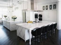 White Kitchen Cabinets With Black Island by Black Kitchen Cabinets Pictures Ideas U0026 Tips From Hgtv Hgtv