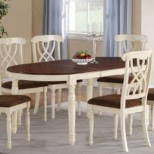 Dining Room Table Leaf - white kitchen tables with leaves white finger