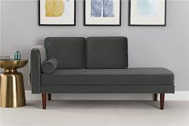 dhp furniture bhg nola mid century modern upholstered daybed