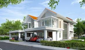 Ghana House Plans Ohenewaa House Beautiful Modern Design Double Storey Semi Detached House