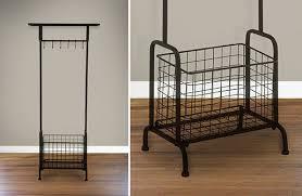 coat rack industrial shelf vintage coat rack