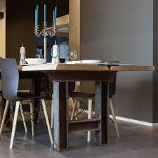Moderner Esstisch Holz Stahl Esstisch Marit