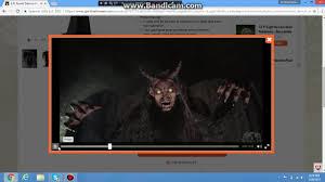 spirit halloween forest demon youtube