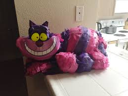 themed pinata diy cheshire cat pinata for an in themed party