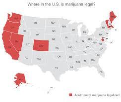 Marijuana Legalization Map Marijuana Legalization And Regulation Drug Policy Alliance