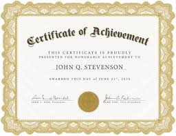 acknowledgement certificate templates microsoft word ready to use