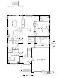 open house plans with large kitchens house plan w3281 cjg detail from drummondhouseplans com