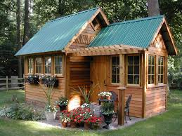 garden shed plans with porch backyard