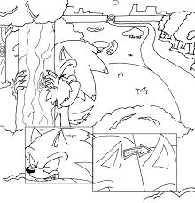 werehog comic attempt 1 by sonicxjones on deviantart