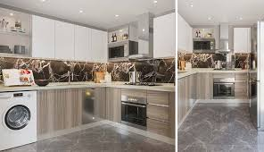 is semi gloss for kitchen cabinets high gloss kitchen cabinets pros and cons oppein the